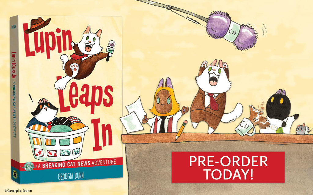 'Breaking Cat News' Presents: A 'Lupin Leaps In' Book Preview