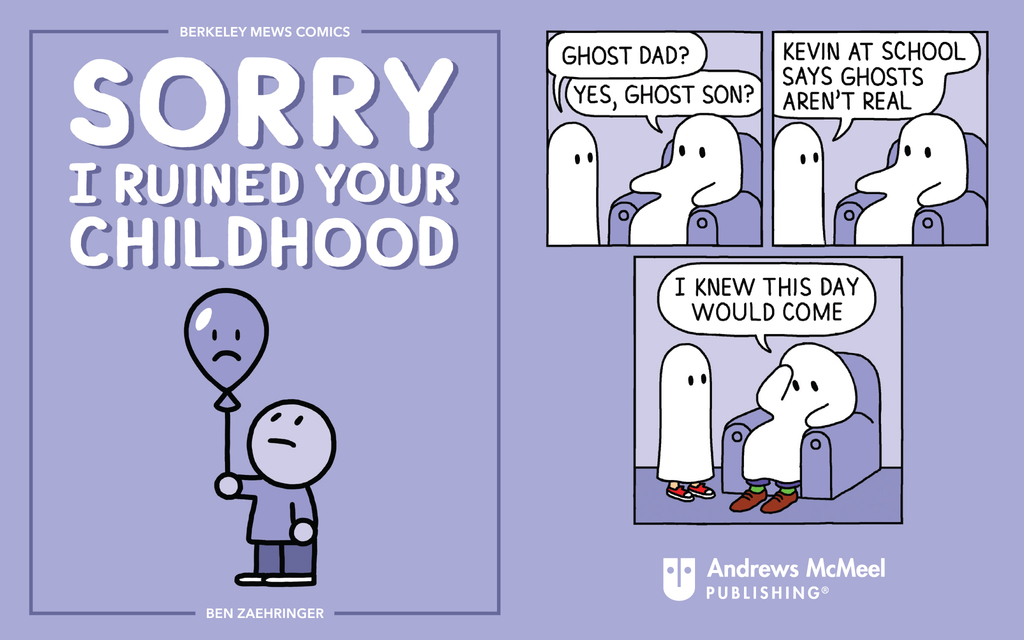 6 Comics From 'Sorry I Ruined Your Childhood: Berkeley Mews Comics'