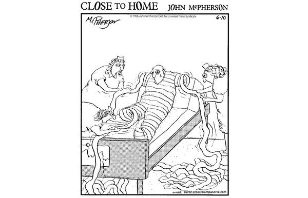 25 'Close to Home' Health Care Comics