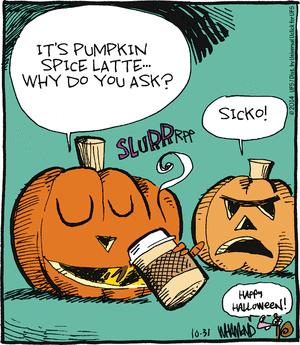 17 Comics Covered in Pumpkin Spice