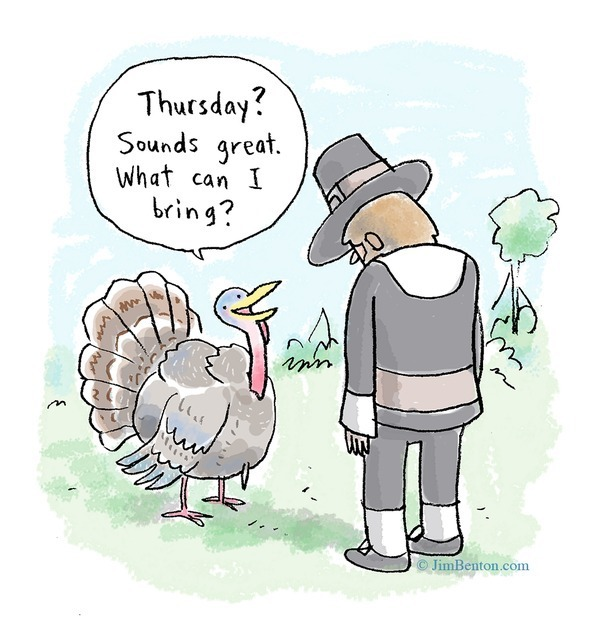 11 Hysterical Thanksgiving Funnies