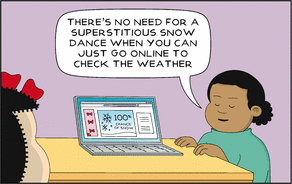 11 Comics That Will Make You Cheer For A Snow Day