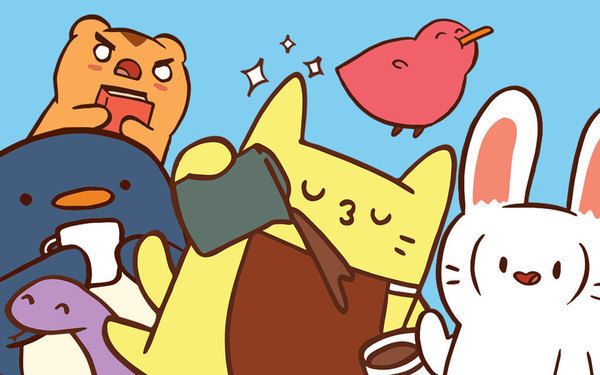7 Comics from the New Cat's Cafe Collection