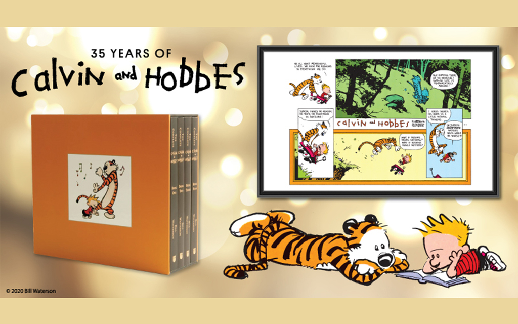 35 Years of Calvin and Hobbes
