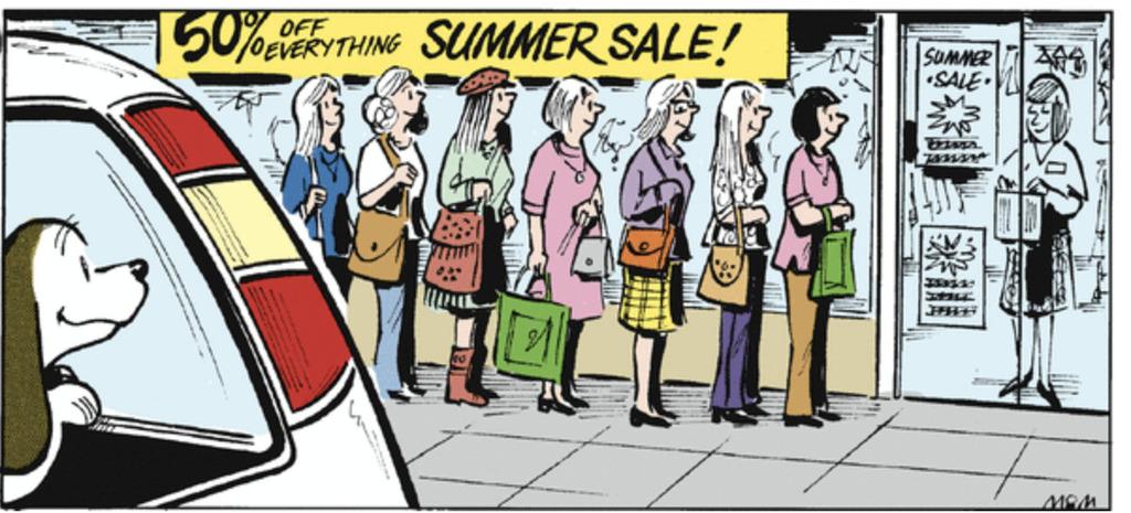 8 Comics Bidding Farewell to Summer!