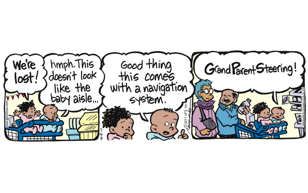 7 Comics Celebrating Grandparents Day!