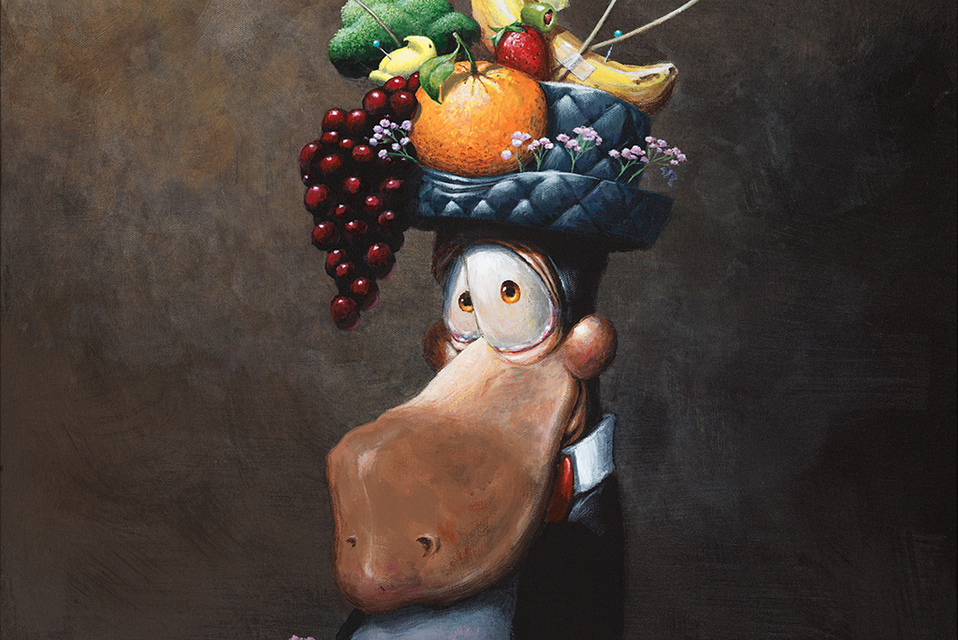 The Bloom County Royal Portrait Series - Click to Shop Now