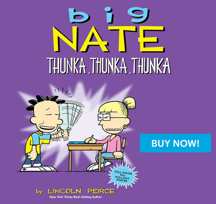 Big Nate Thunka Book