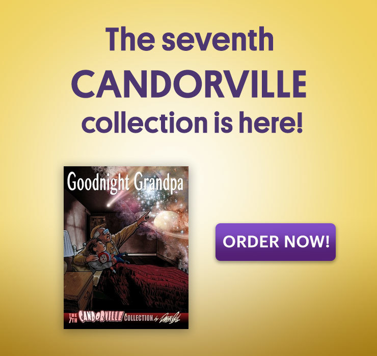 Candorville Goodnight Grandpa book