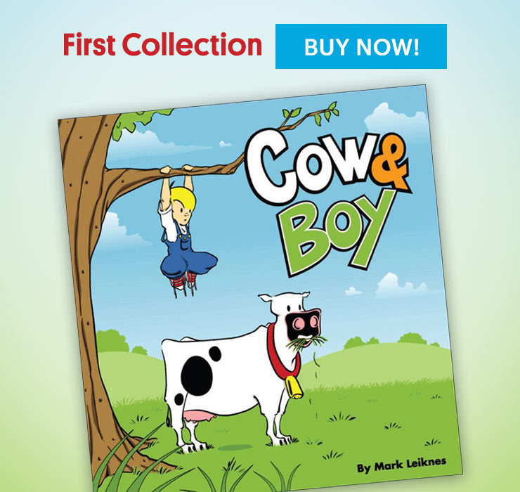 Cow and Boy Classics Book