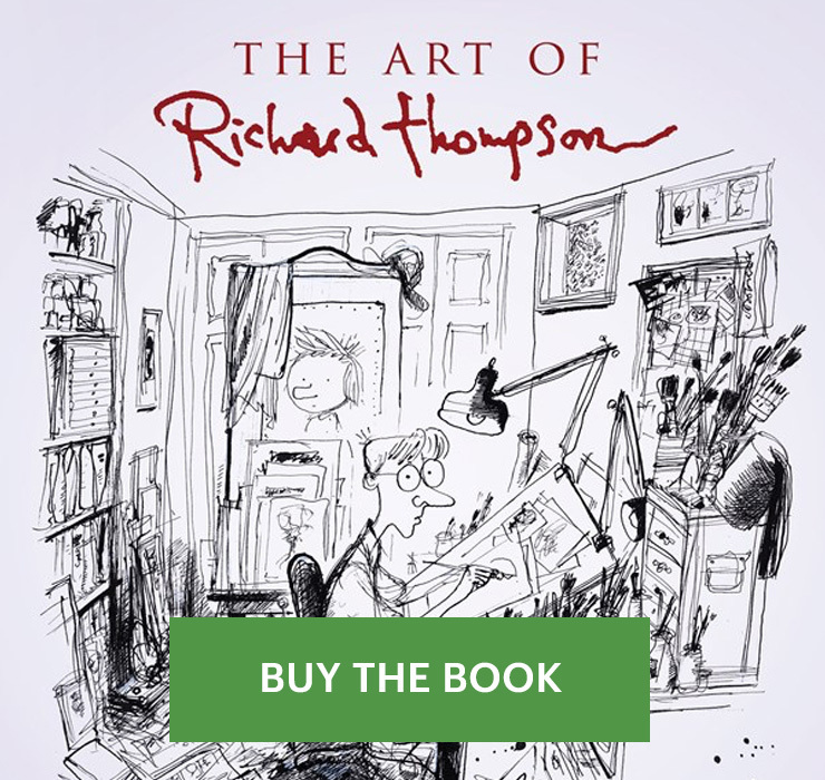 The Art of Richard Thompson - Bill Watterson