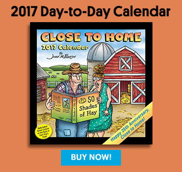 Close to Home Day-to-Day Calendar