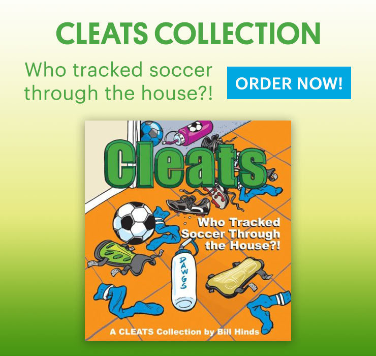 Cleats Book Who Tracked Soccer Through the House?