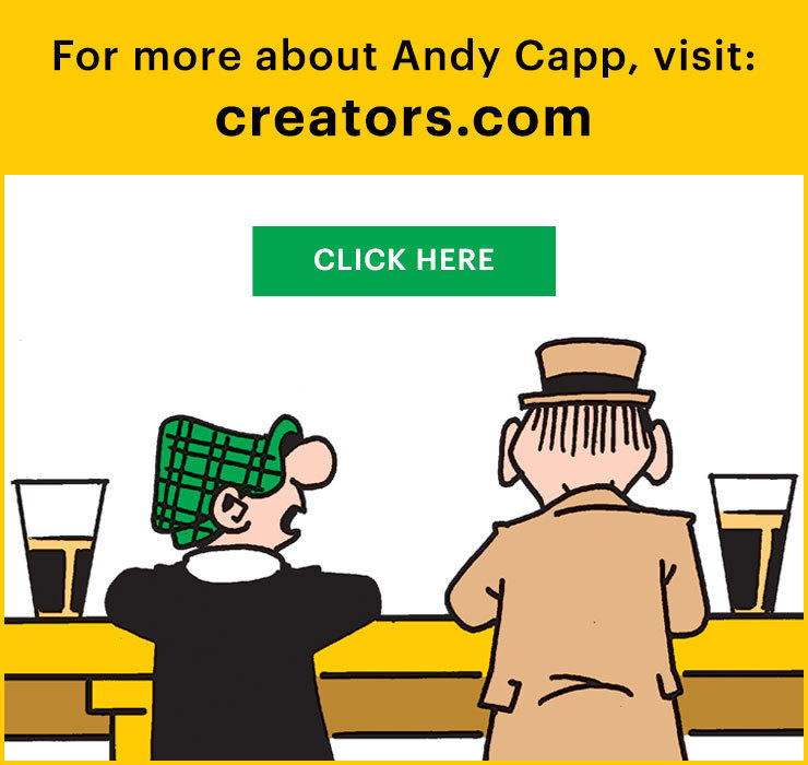 Andy Capp Cartoon Books From The 80s X 5