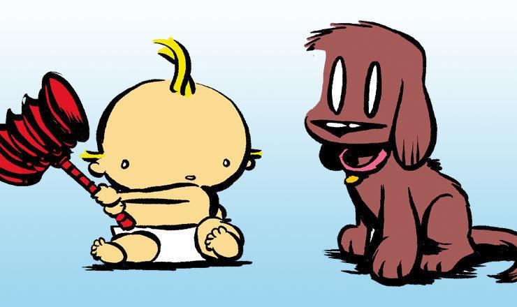 Visit the official Dog Eat Doug website!