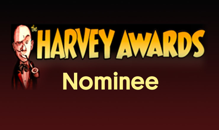 Harvey Award nominee
