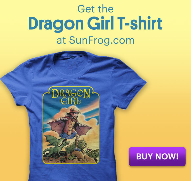 Dragon Girl T-Shirt