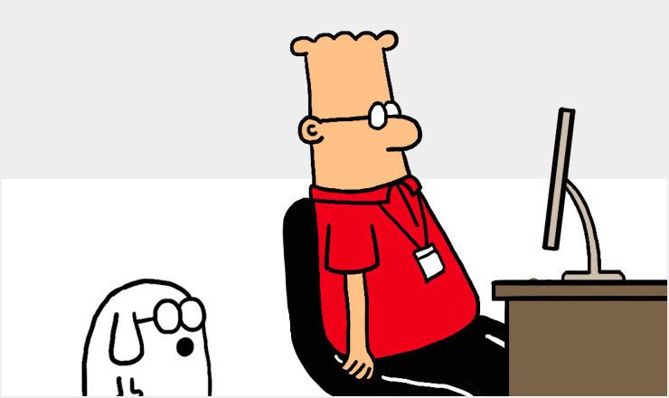 Dilbert blog