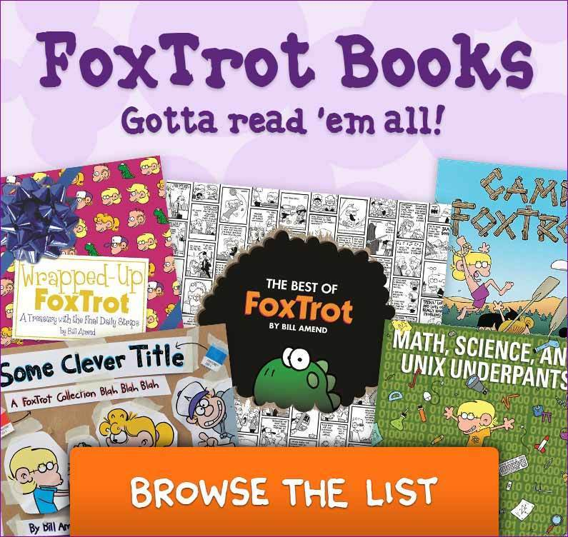 FoxTrot books by Bill Amend