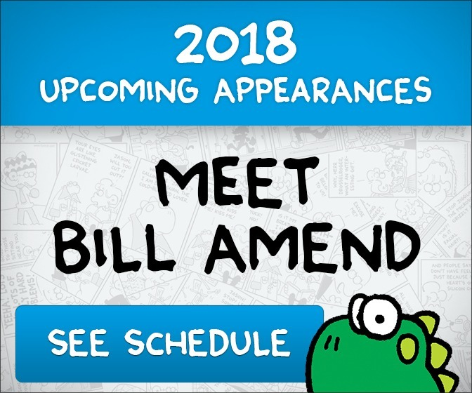 Upcoming Appearances — Meet Bill Amend!
