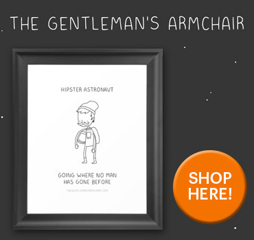 The Gentleman's Armchair Store Society6