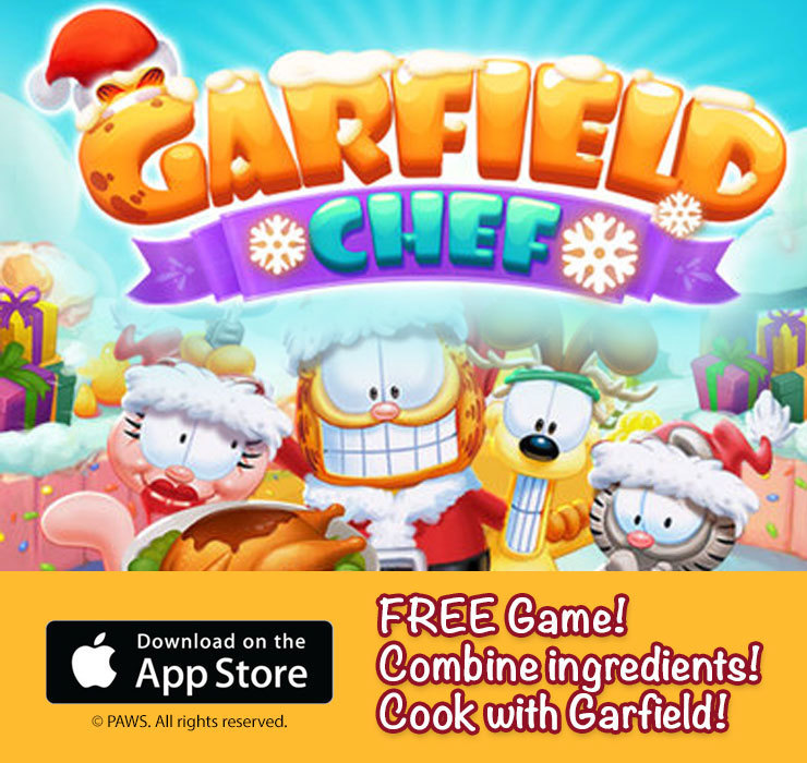 Garfield Chef app