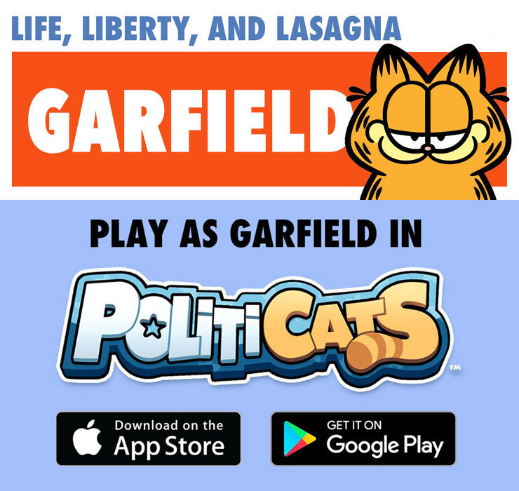 Politicats Garfield