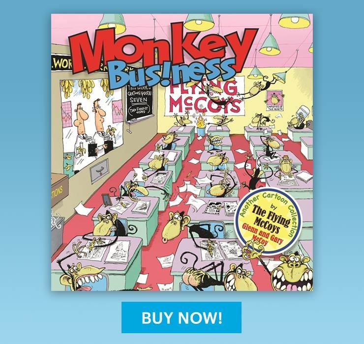 Glen McCoy Monkey Business Book