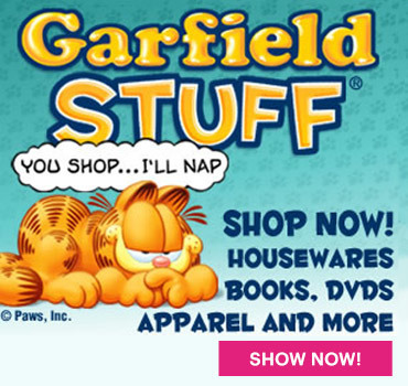 Garfield Cafe Press store