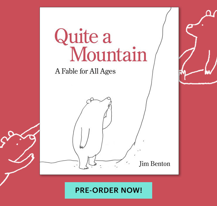 Jim Benton Amazon Preorder Quite A Mountain