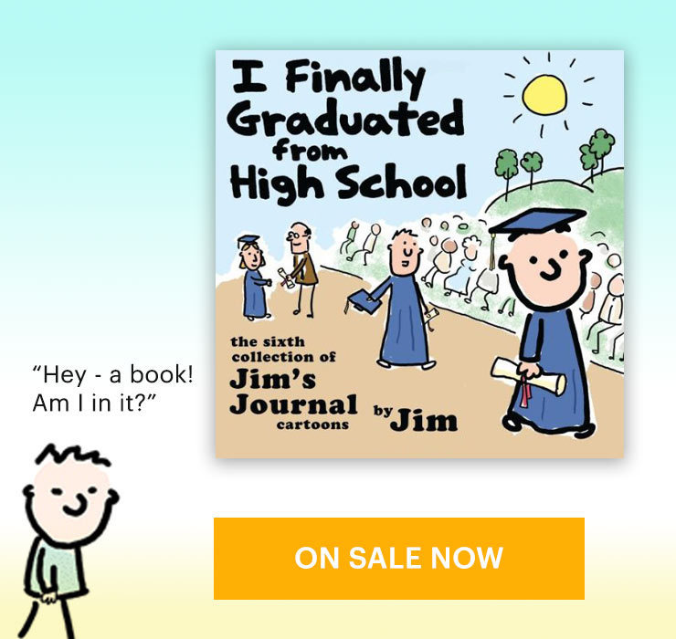 Jim's Journal Book - I Finally Graduated High School