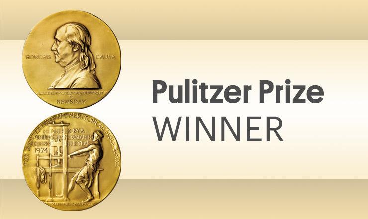 Pulitzer Prize winner