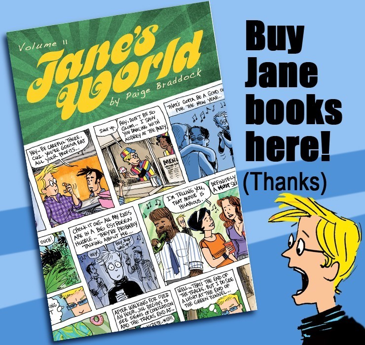 Looking for Jane's World Books? Here they are!