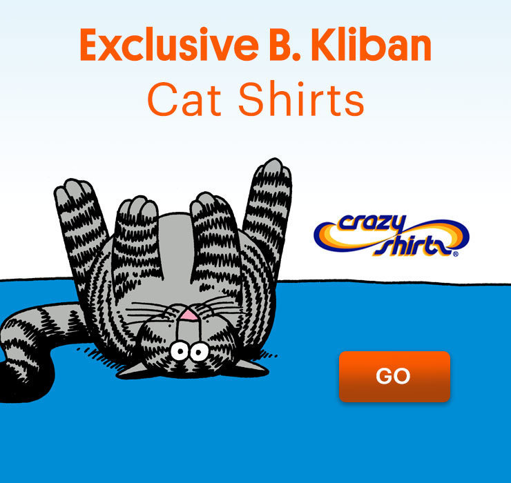 Kliban's Cat tshirts