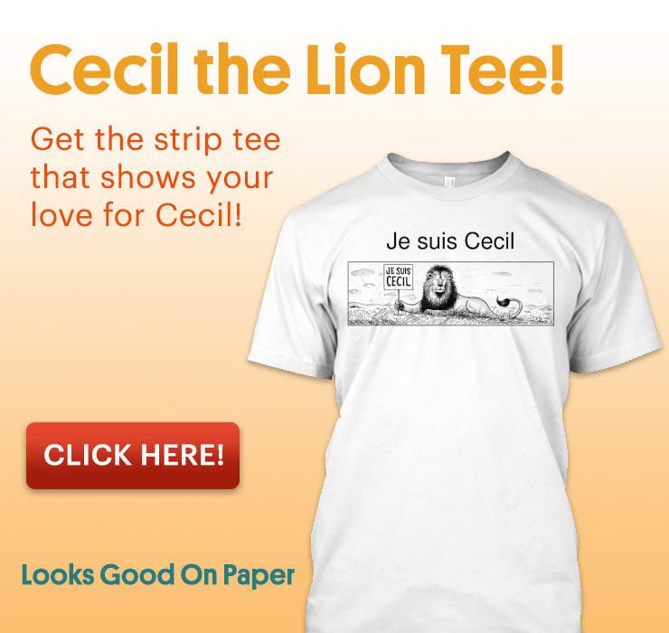 Cecil the Lion tee