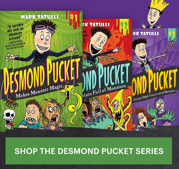 Shop the Desmond Pucket Series!
