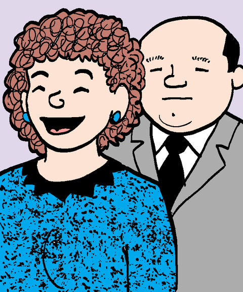 IRMA BERGER and MR. GRAY: Odd Couple