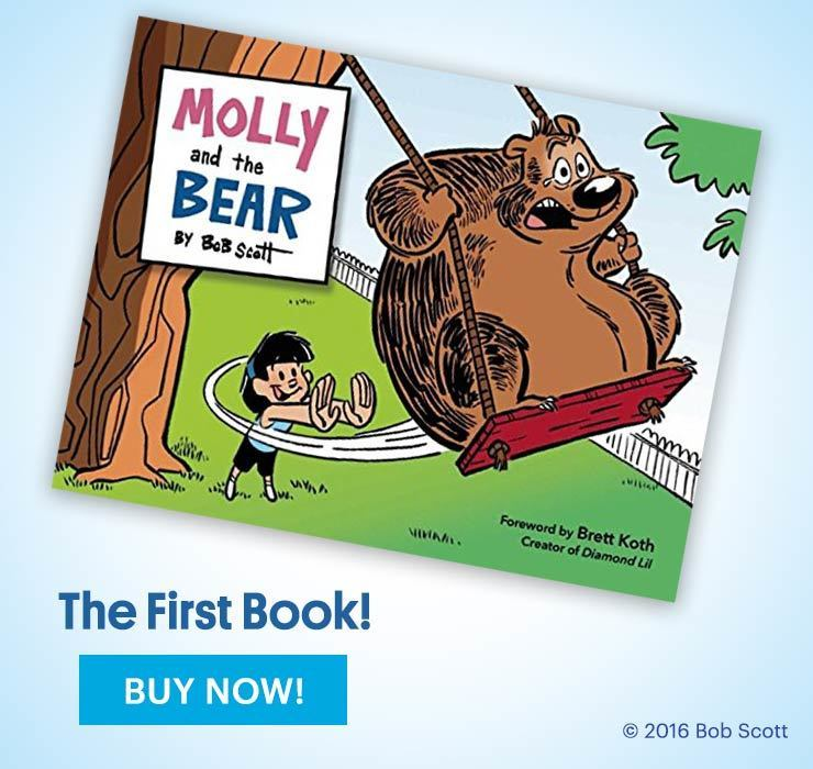 Molly and the Bear book