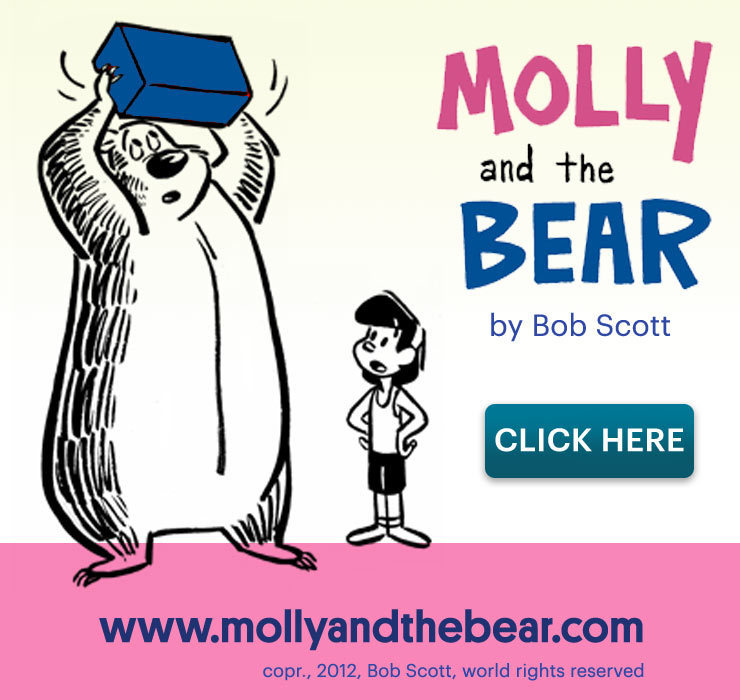Molly and the Bear website