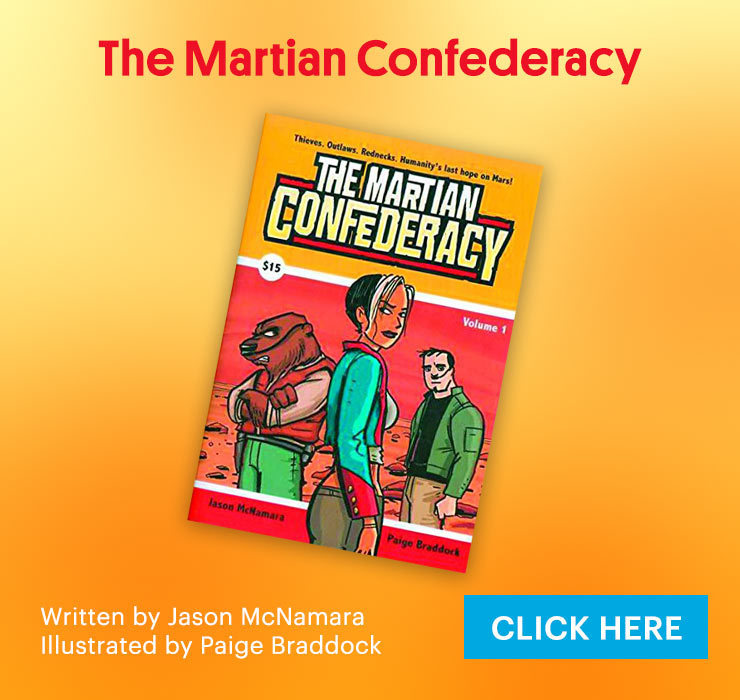 The Martian Confederacy Book
