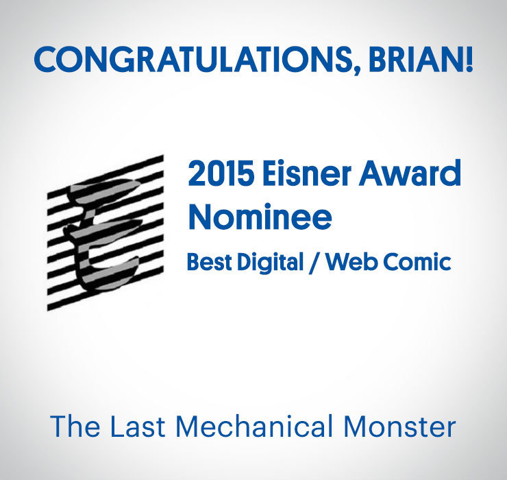 Mom's Cancer Eisner Award Nominee 2015