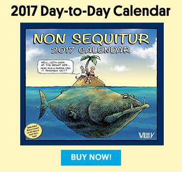 Non Sequitur Calendar 2017