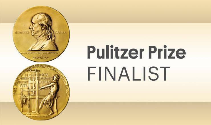 Pulitzer Prize FINALIST: Editorial Cartooning