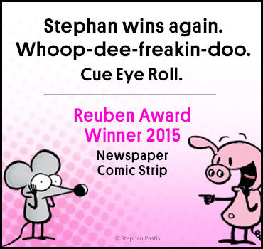Pearls Reuben Award Winner