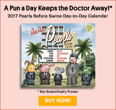 Pearls Before Swine Day to Day Calendar 2017