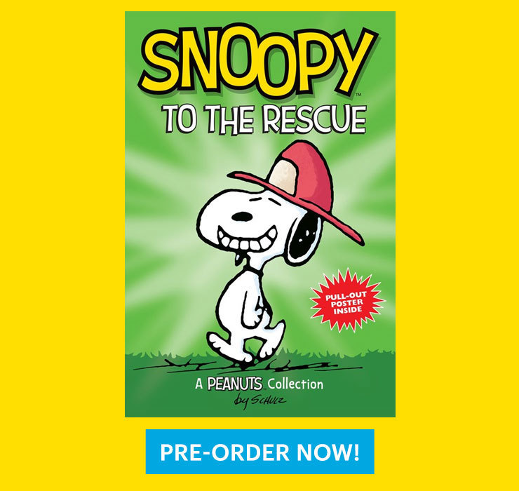 Snoopy to the Rescue Peanuts Book Amazon Preorder
