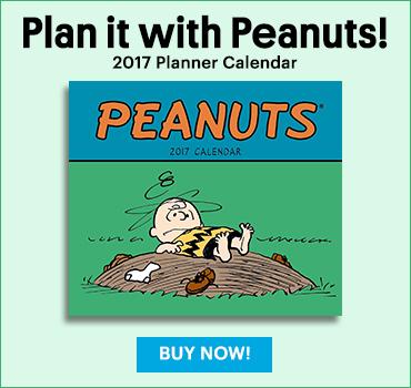 Peanuts Wall Calendar 2017