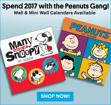 Peanuts Mini Wall Calendar 2017