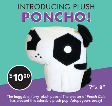 Pooch Cafe Poncho Plushee Merchandise