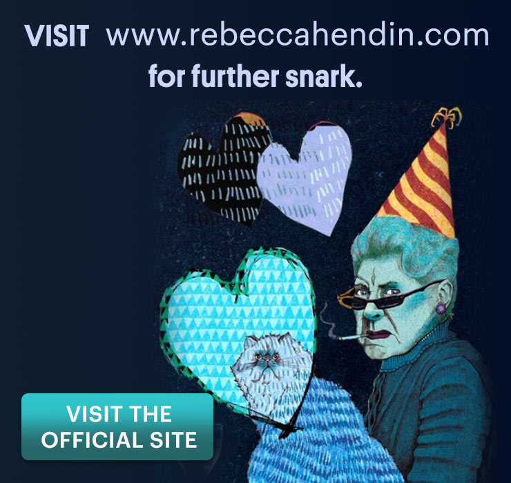 Visit the official Rebecca Hendin website!